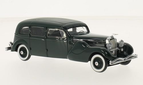duesenberg-j-landaulet-dark-green-matt-dark-green-bohman-schwartz-1937-model-car-ready-made-glm-143