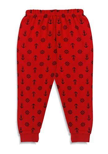 X2O Cotton Baby Pajama Pants with Rib (Unisex) (Multicolor) (Assorted Prints) Pants_001