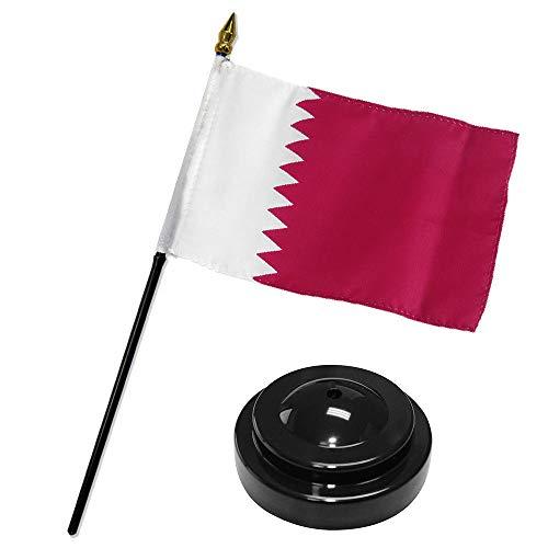 ALBATROS Qatar 4 inch x 6 inch Flag