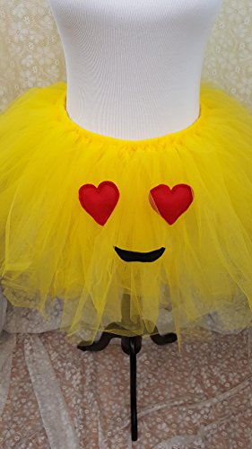 Children's Heart Eye Emoji Tutu -