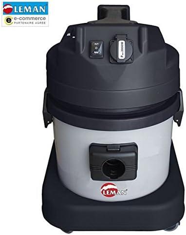 déstock Leman – Aspirador polvo polipropileno décolmatage Auto 1700 W 21L – asp215: Amazon.es: Bricolaje y herramientas