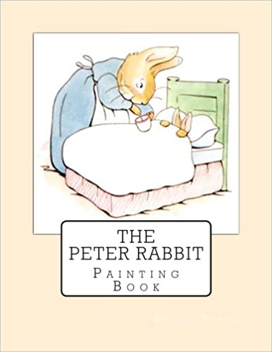 The Peter Rabbit Painting Book Beatrix Potter 9781978077140 Amazon Books