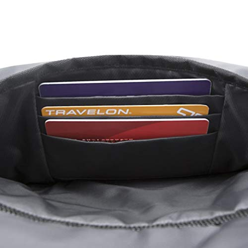 41gqkdFfzcL - Travelon Anti-Theft Active Daypack, Charcoal