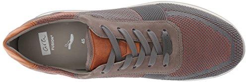 Louie ara Sneaker Orange Grey Men Woven RnfqT7zw