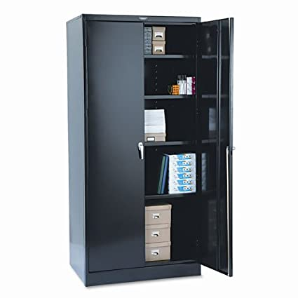 Amazon Com Tennsco 2470bk 36 By 24 By 78 Inch Deluxe Steel Storage