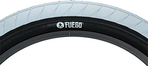 Flybikes Fuegoタイヤ20 x 2.3ホワイト/ブラック B0756N2SW5