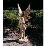 49.5″ Classic Winged Pixie Fairy Home Garden Sculpture Statue