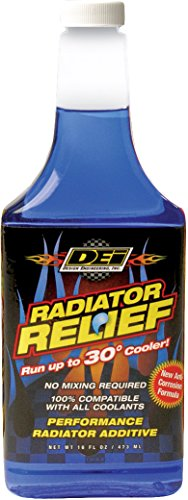 Design Engineering 040200 Radiator Relief Coolant Additive for All Water Cooled Engines, 16 oz.