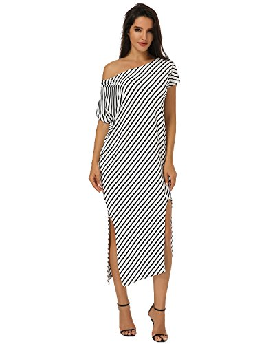 ZANZEA Womens Striped Irregular Kaftan product image