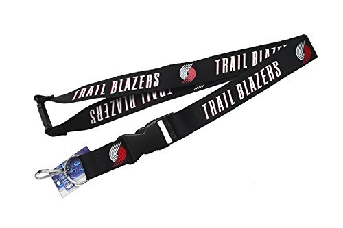 (aminco Portland Trail Blazers Clip Lanyard Keychain Id Holder -)
