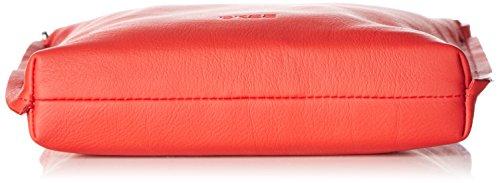 BREE Collection Toulouse 1, dark brown, cross shoulder S - Bolso bandolera para mujer Rojo - Rot (red 151)