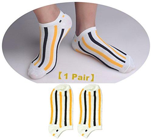 1-Pack Socks Cute Mens #UF2381 CV322U14 (Flash Rubber Wig)