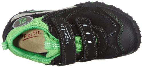 Superfit Sport4 mini 10023202 Baby Jungen Lauflernschuhe Schwarz (Schwarz Kombi 02)