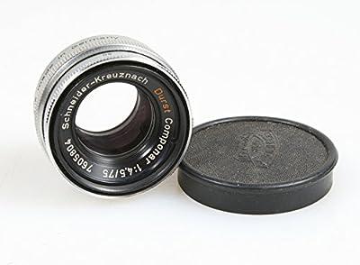 Durst Componar Enlarging Lens 75mm F 4.5 Schneider Kreuznach by DURST