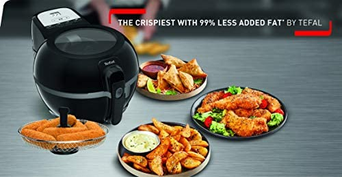 Tefal ActiFry Advance Snacking FZ729840 Health Air Fryer, Snacking basket, Black, 1.2kg, 6 portions