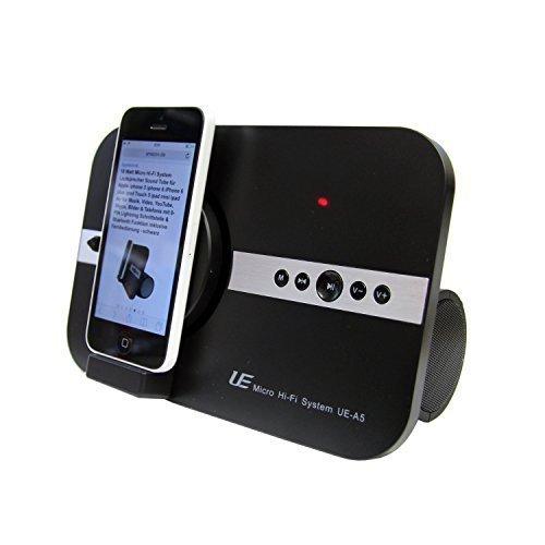 10 Watt Micro Soundsystem für Apple iphone X Xs Xr iphone SE 5 5S 6 6S 7 8 Plus ipod Touch iPad Pro mini Air Musik Video 8-PI