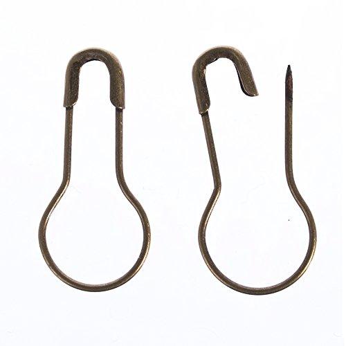 1000pcs 0.85 Inch Bronze Metal Gourd Pin//bulb Pin//calabash Pin Bead Needle Pins