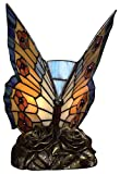 Quoizel TF6599R Tiffany Butterfly Lamp - 1-Light - 7 Watt - Architectural Bronze (9