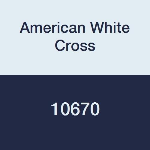 American White Cross 10670 Cherry Sponge, Sterile, 1/2'', 5/Bag, 100 Bag/Case (Pack of 500)