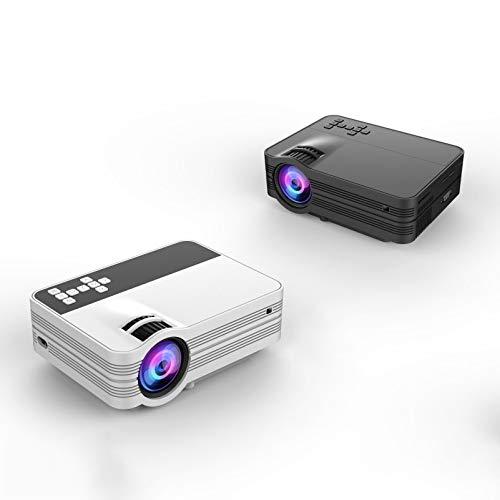 Qucking Light Proyector Portátil, Proyector para El Hogar Mini ...
