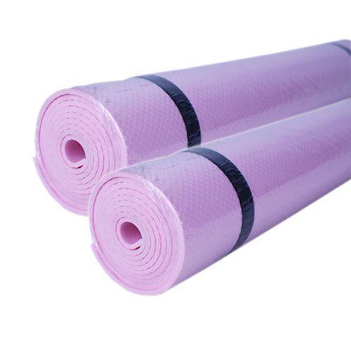 Camping Foam EVA Mat Exercise Yoga Sleeping Picnic Outdoor Mattress (0.3cm pink)