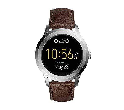 Fossil Gen 2 Smartwatch - Q Founder Dark Brown Leather