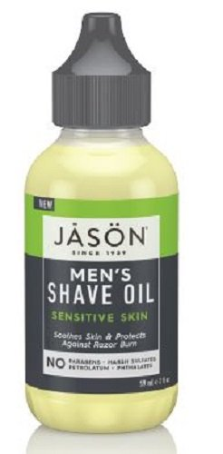 Jason Men's Shave Oil Sensitive Skin 2 oz