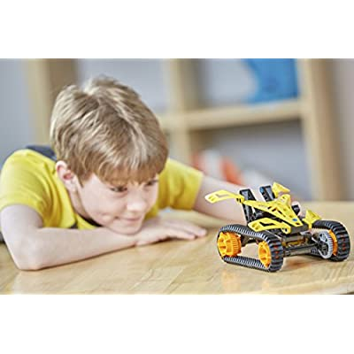 Thames & Kosmos 555063 Engineering Makerspace Off-Road Rovers Science Experiment Kit: Toys & Games