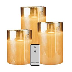 Flameless Led Candles Flickering, YINUO Candle Rea