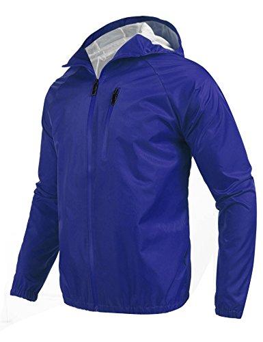 Coofandy Men's Outdoor Hiking Jacket Waterproof Rain Coat