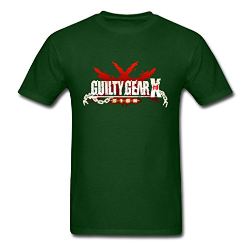 Ky Kiske Guilty Gear - AneSwing Guilty Gear Xrd Sign Logo Fitness Forest green Men's T Shirt Large