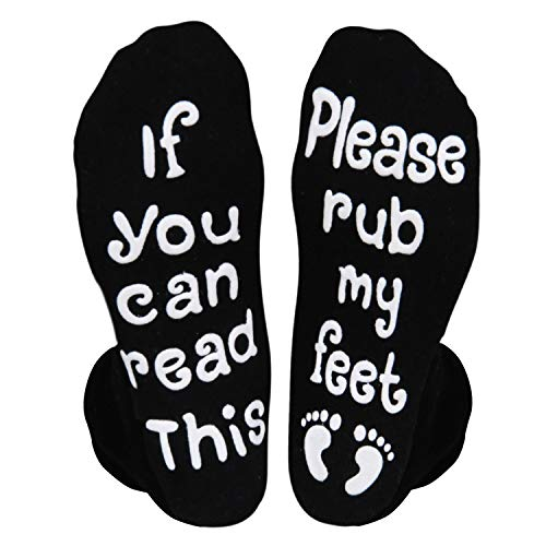 Labor and Delivery Pregnancy Inspirational Non-Skid Cushion Maternity Push Socks