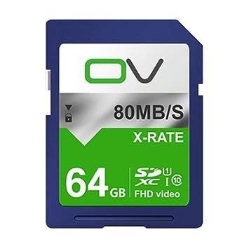 BAIYI Tarjeta de Memoria, Tarjeta SD de Alta Velocidad 64G ...