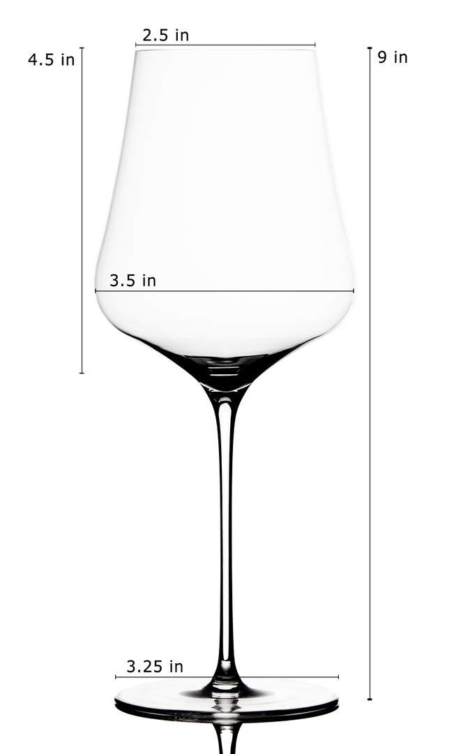 Gabriel-Glas -Austrian Crystal Wine Glass - ''StandArt'' Edition - Set of 2 by Gabriel-Glas (Image #7)