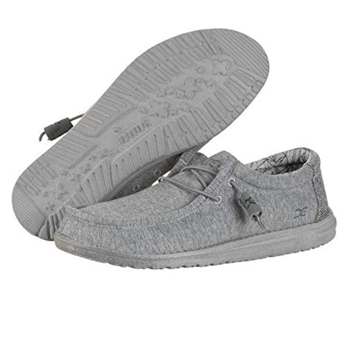 US 111363000 Grey Fleece Stretch Dude EU Shoes Shoes 44 Wally Size 11 Y4ZZvw