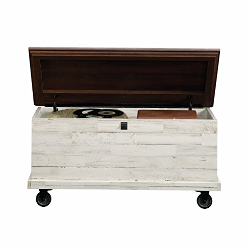 Coffee Table Wheels - Sauder 419590 Eden Rue Rolling Chest, L: 37.17