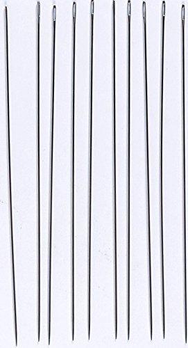 120x 1,1mm 120x 1 1mm H120110 silber TSL Puppe Nadeln 10-tlg