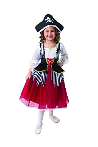 Little Adventures Princess Pirate Costume (2-4) (Little Girls Pirate Costume)