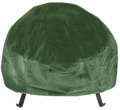 Deeco DM-RC-RF-G Round Fire Pit Cover, Green, 40-Inch by Deeco