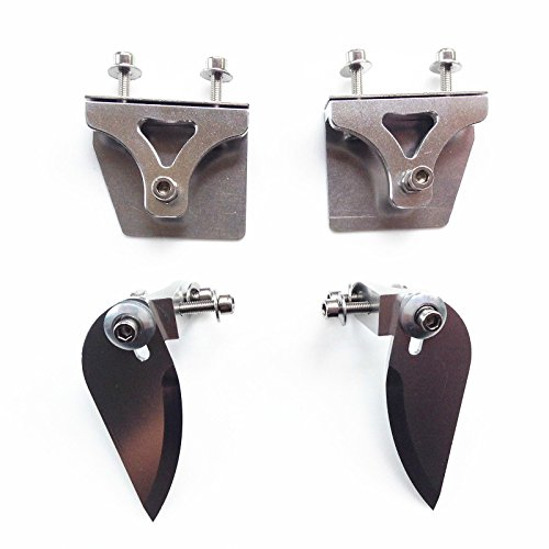 CNC Trim Tabs & Turn Fins Set for Small Electric Nitro RC Boat RC#1188