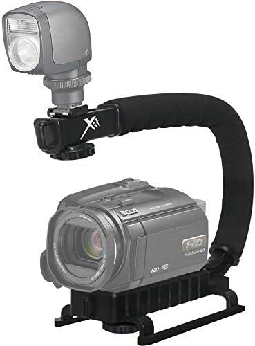 Pro Video Stabilizing Handle Grip for Canon PowerShot A630 Vertical Shoe Mount Stabilizer Handle