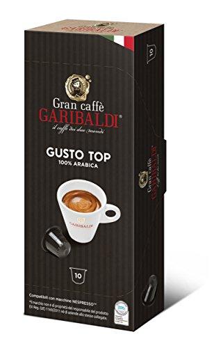 - Gran Caffè Garibaldi Nespresso compatible capsules - 60 Count (Gusto Top)