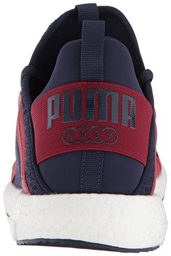 Puma Hombres Mega Nrgy Sneaker Peacoat Red Dahlia