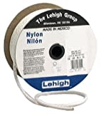 Lehigh Group SNR612 3/16'' x 1,200' Nylon Solid Braid Rope, White