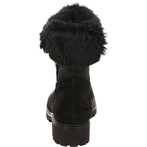 Gabor 72.783.87, Bottes pour Femme - noir - noir,