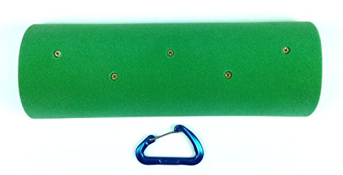 The Half Pipe (16'' Screw-On Campus Sloper Rung)| Climbing Holds | Green by Atomik Climbing Holds