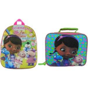 DocMcstuffins Backpack & Lunchbox Set (bundle)