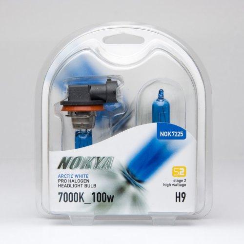 Nokya Arctic White H9 Headlight Bulb (Stage (Nokya Arctic White)