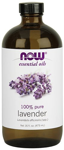NOW Essential Oils, Lavender Oil, Soothing Aromatherapy Scent, Steam Distilled, 100% Pure, Vegan, 16-Ounce by NOW Foods
