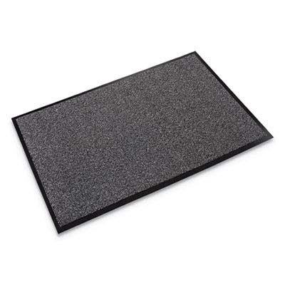 (Crown WA0046GY Walk-A-Way Indoor Wiper Mat, Olefin, 48 x 72, Gray)